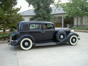 1934 Lincoln Two Window Town Sedan